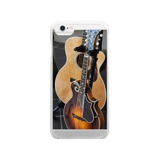 Guitar & Mandolin Clear smartphone cases
