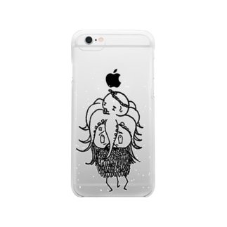 THEY ARE 「オソナえもん」のTHIS IS 描きたかっただけ Clear smartphone cases