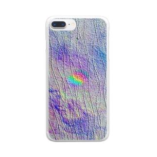 オーロラウォール Clear smartphone cases