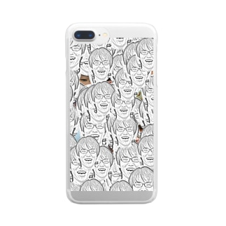 割り切れるの割り切れる2018 Clear smartphone cases