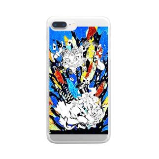 メーデー Clear smartphone cases