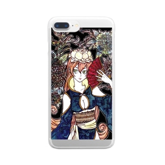 piony Clear smartphone cases