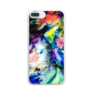 nor_tokyoのdyebirth_005 Clear smartphone cases