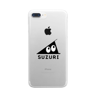 SUZURI Clear smartphone cases