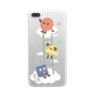 ひみつきち Clear smartphone cases
