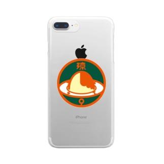 パ紋No.3235 涼 Clear smartphone cases