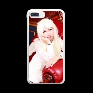 みずほ💎お姫のmizuhohimesato Clear smartphone cases