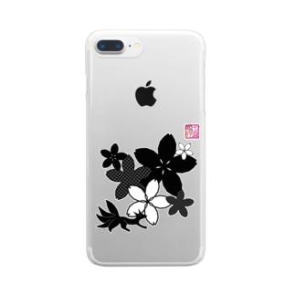 「百歳」Series * Sakura-ko mono Clear smartphone cases