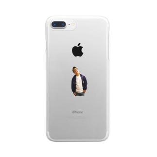 シティーボーイ風のpastak Clear smartphone cases