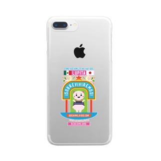 XochimikKids X マリオ・フローレス Clear smartphone cases