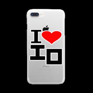 AAAstarsの愛 ハート エロ Clear smartphone cases