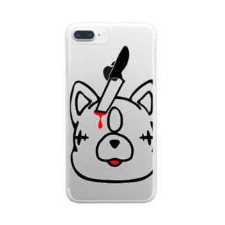エキセントリッククアニマル トラ Clear smartphone cases