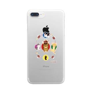 いくえみ綾先生 Clear smartphone cases