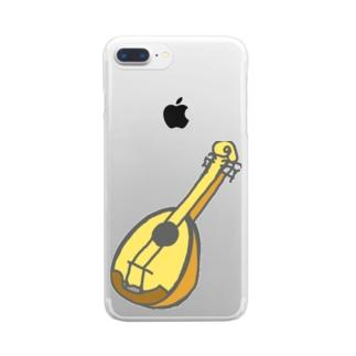 マンドリン Clear smartphone cases