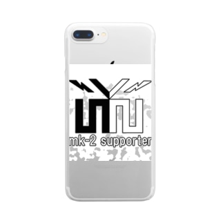 mk-2 supporter クリアスマートフォンケース