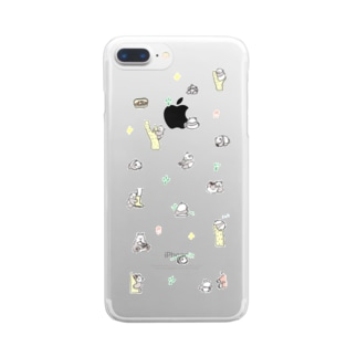 🐼🍼🍒 Clear smartphone cases