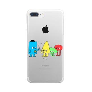 カタチ3 Clear smartphone cases