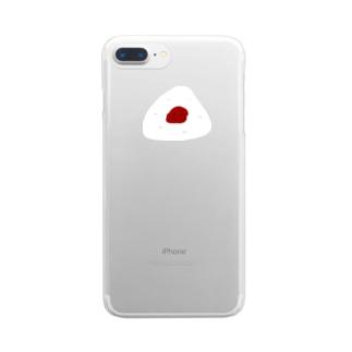 握りphone Clear smartphone cases