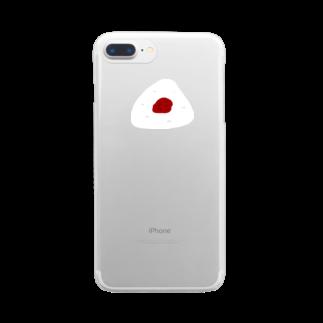 明季の握りphoneクリアスマートフォンケース