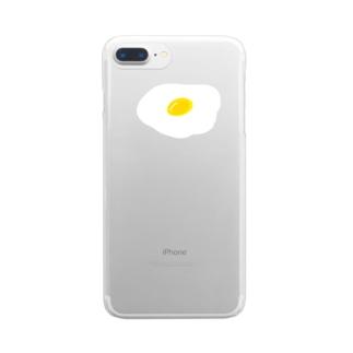 目 phone クリアスマートフォンケース