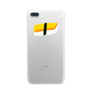 sushi phone クリアスマートフォンケース