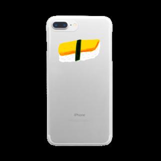 明季 aki_ishibashiのsushi phone クリアスマートフォンケース