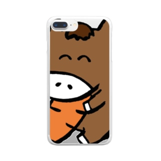 うま! Clear smartphone cases