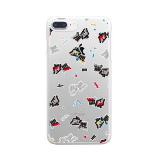 虚無散らし その2 Clear smartphone cases