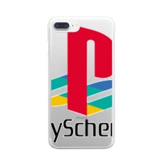 PlayScheme(color) クリアスマートフォンケース