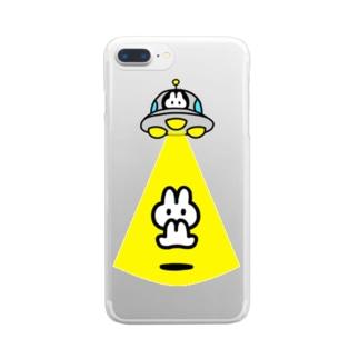ウサ・フューチャー・オプティマス Clear smartphone cases