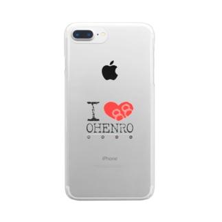 アイラブお遍路 Clear smartphone cases