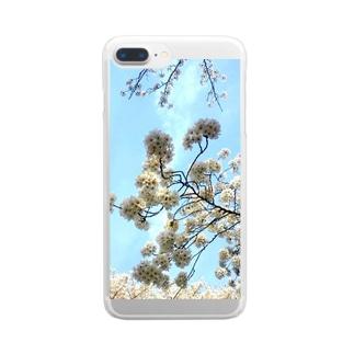 ソメイヨシノ Clear smartphone cases