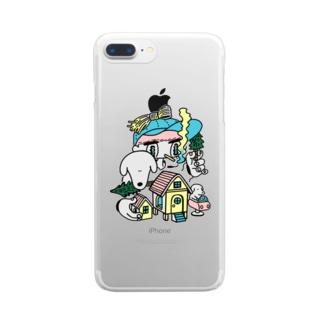 ニウハイスーカのお家 Clear smartphone cases