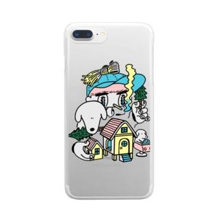 お家 Clear smartphone cases