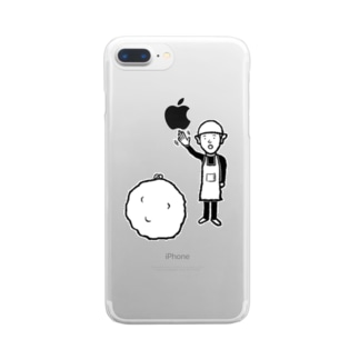 断捨離 Clear smartphone cases