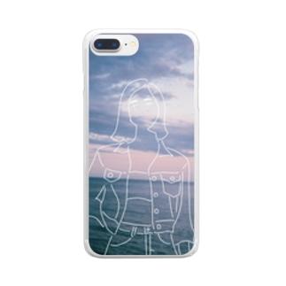水と人 Clear smartphone cases
