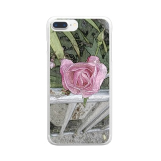 Rose Clear smartphone cases