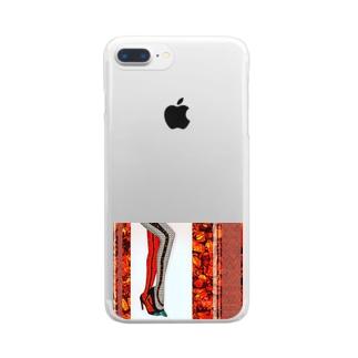 レッグス2 Clear smartphone cases
