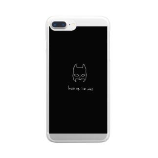 avec9ne batman Clear smartphone cases