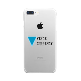 VERGE XVG ヴァージ Clear smartphone cases