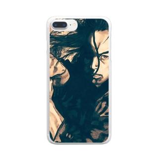 勝負! Clear smartphone cases