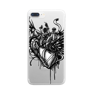 Machinery Heart クリアスマートフォンケース