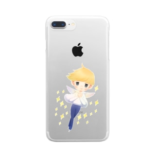 Skate Boy Clear smartphone cases