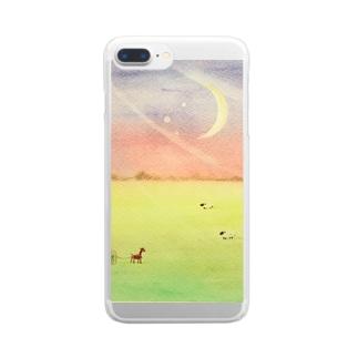 風 Clear smartphone cases