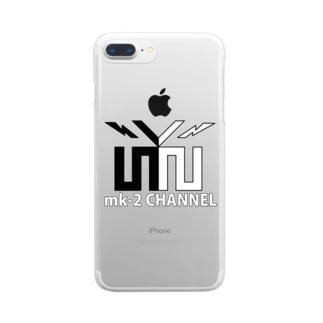 mk-2 CHANNEL クリアスマートフォンケース