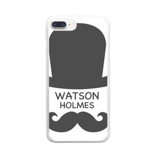WATSON HOLMES Clear smartphone cases