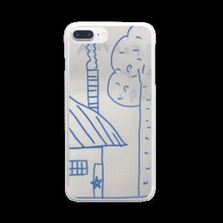 mizusakiの聖委員長のイラスト Clear smartphone cases