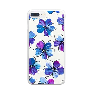 Spring flower  Clear smartphone cases