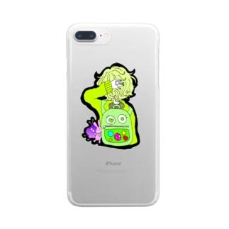 りゅっく Clear smartphone cases