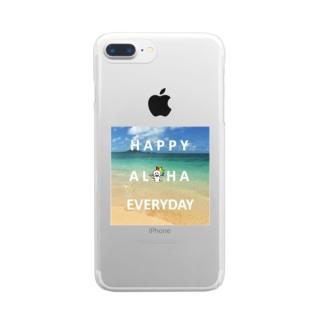 虹色ボーイ Clear smartphone cases